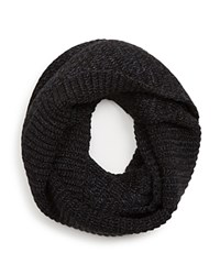 The Men's Store At Bloomingdale's Ribbed Loop Scarf Black
