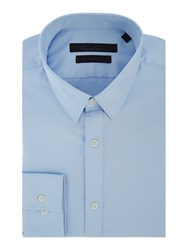 Kenneth Cole Flight Travel Shirt Sky Blue