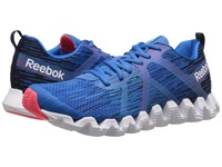 Reebok Zigtech Squared 2.0 Faux Indigo Cycle Blue Far Out Blue White Black Neon Cherry Men's Running Shoes