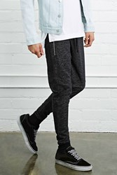 Forever 21 Zip Front Marled Joggers