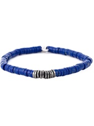 Tateossian 'Melted Disc' Bracelet Blue