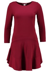 Anna Field Jersey Dress Pomegranate Bordeaux