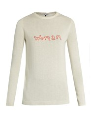 Bella Freud Woman Cashmere Sweater Ivory