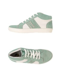 Navigare High Top Sneakers Light Green