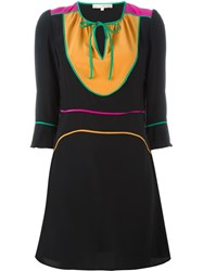 Vanessa Bruno Colour Block Dress Black