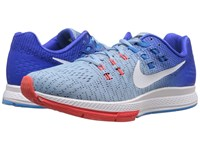 Nike Air Zoom Structure 19 Blue Cap White Racer Blue Blue Glow Women's Running Shoes