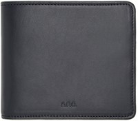A.P.C. Navy London Wallet