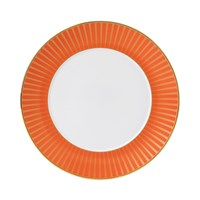 Wedgwood Palladian Plate Orange Accent 23Cm