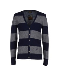 Le Mont St Michel Knitwear Cardigans Men Dark Blue