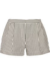3.1 Phillip Lim Striped Canvas Shorts