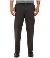 Dockers Signature Stretch Relaxed Flat Front Steelhead Men's Casual Pants Brown