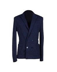 Philippe Model Suits And Jackets Blazers Men Dark Blue