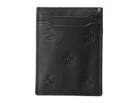 Original Penguin Sterling Card Holder Black Credit Card Wallet