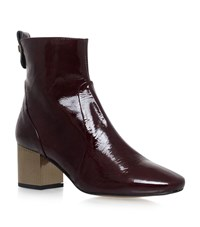 Carvela Kurt Geiger Strudel Ankle Boots Female Wine