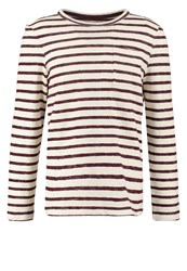 Pier One Sweatshirt Bordeaux Off White