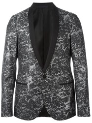 Lanvin Shawl Collar Blazer Black
