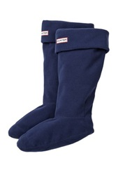 Hunter Fleece Welly Socks Blue