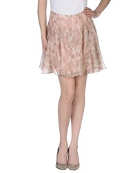 Elizabeth And James Skirts Knee Length Skirts Women Light Pink