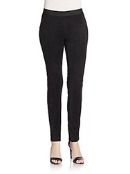 Bcbgeneration Cooper Faux Suede Leggings Black