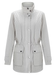 Four Seasons Quilted Jacket Stone