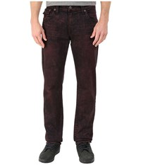 True Religion Geno With Flap In Red Roulette Red Roulette Men's Jeans