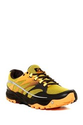 Merrell All Out Charge Running Shoe Yellow