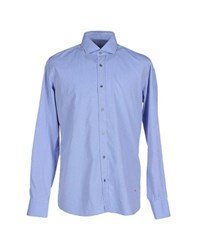Massimo Rebecchi Shirts Shirts Men Sky Blue