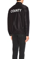 Alexander Wang Oakland Coach's Jacket In Black