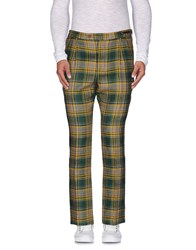 Pt01 Trousers Casual Trousers Men Dark Green