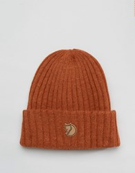 Fjall Raven Fjallraven Byron Wool Beanie In Brown Brown