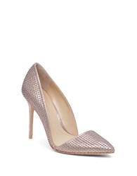 Imagine Vince Camuto Ossie Studded Dorsay Pumps Rosegold