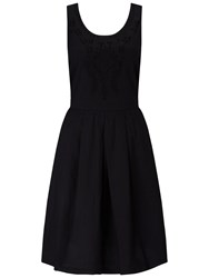 Collection Weekend By John Lewis Embroidered Cotton Dress Black