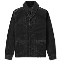 Visvim Kobuk Shawl Collar Jacket Black