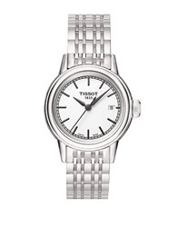 Tissot Ladies Carson Stainless Steel Watch Silver