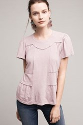 Anthropologie Casual Friday Tee Lilac