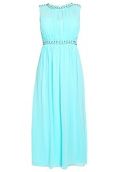 Little Mistress Curvy Maxi Dress Blue Turquoise