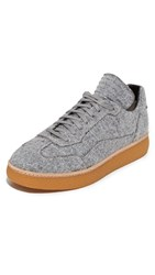 Alexander Wang Eden Felt Low Sneakers Heather Grey