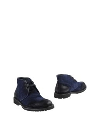 Emerson Ankle Boots Dark Blue