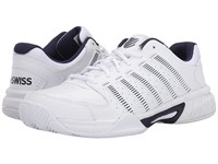 K Swiss Express Leather White Navy Men's Tennis Shoes