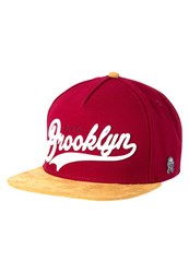 Cayler And Sons Cap Maroon Brown White Dark Red