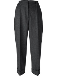Cacharel Cropped Trousers Grey