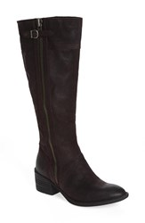 Brn Women's B Rn 'Poly' Riding Boot Purgna Distressed Leather