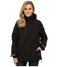 Khombu Parka Jacket Jet Black Women's Coat