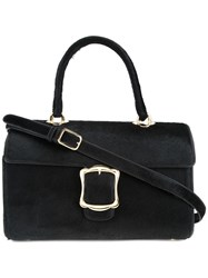 Simone Rocha Buckled Tote Black