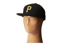 New Era Authentic Collection 59Fifty Pittsburgh Pirates Home Road Baseball Caps Navy