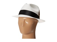Stacy Adams Toyo Fedora With Snap Brim And 3 Pleat Silk Band Black Fedora Hats