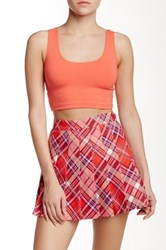 American Apparel Cropped Tank Pink