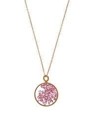 Aurelie Bidermann Fine Jewellery Ruby And Yellow Gold Necklace Yellow Gold