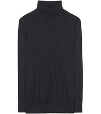 Dolce And Gabbana Cashmere Turtleneck Sweater Black