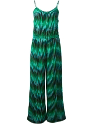 Michael Michael Kors Tribal Print Jumpsuit Green